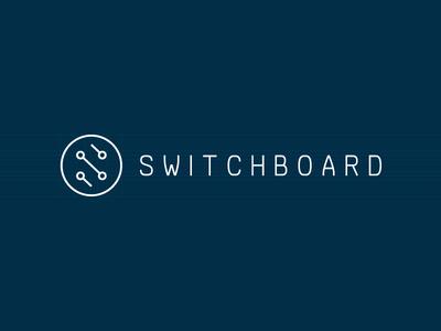 Switchboard Logo logo circuit switchboard