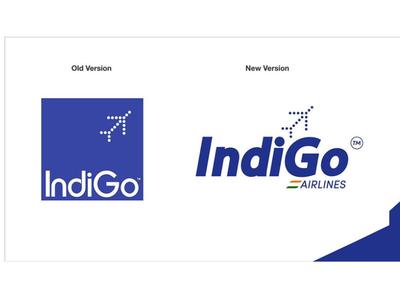 Indigo Re-design Logo logo vector @crewlifeindia