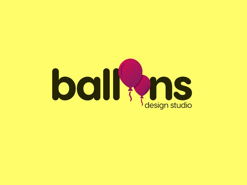 ballons logo design illustrator flat app illustration @crewlifeindia minimal icon design typography logo
