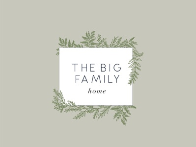 The Big Family Home Logo