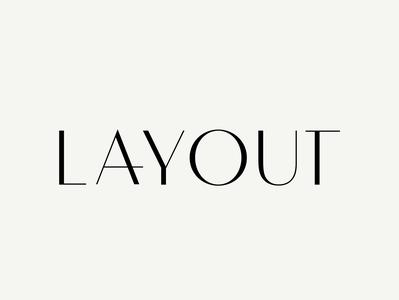 Layout Logo Design