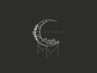 Luna LA Logo Design
