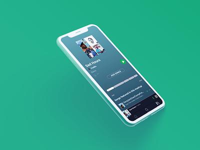Spotify Mashup design ui