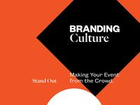 Branding Culture, a class on brand design.