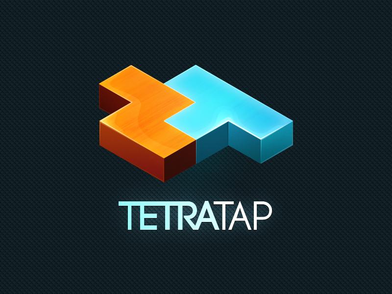 TETRATAP [final] 2011 game tetris logotype