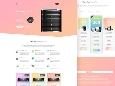 Cocohost Template