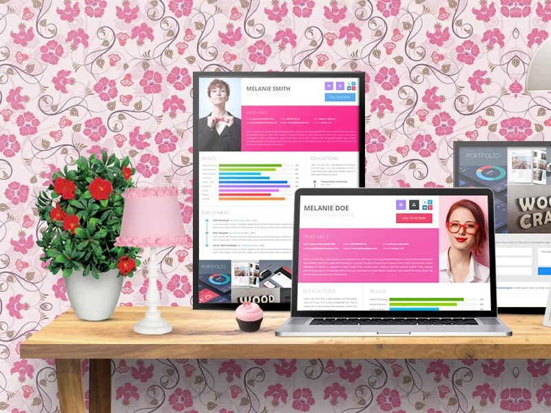 Resume Design onepage freelancer personal vitae curriculum cv resume