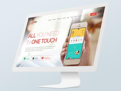 Coco App Site Template