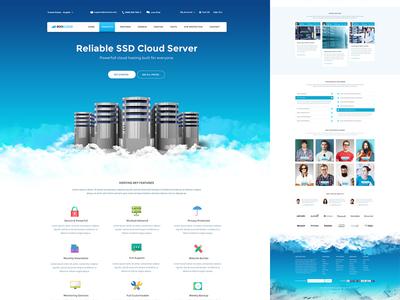 Cloud Server Site Template