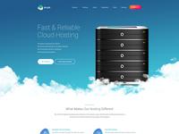 Cloud Hosting Homepage