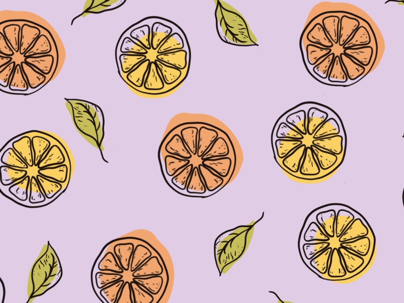 Citrus Print lemons fruit illustration lemon fruit packaging design product design ipad procreate colour palette illustration art illustration graphic design design branding