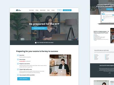 Website Design for a SaaS company freelance website designer web design melbourne landing page design website design saas landing page saas website