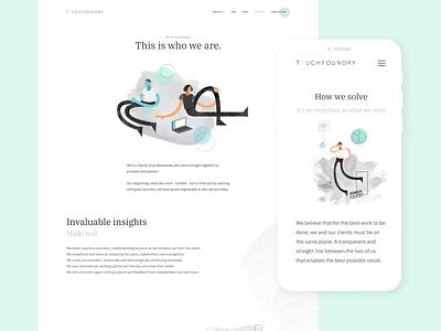 TF rebrand brand deployment typography app mobile illustration branding design ui