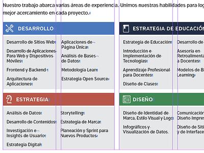 Marketing One-Pager, Español spanish layout marketing