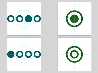 Mystique and Alert Runes alert mystique symbols runes icons illustrator