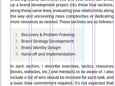 Building Brands eBook [In-Progress] logo identity indesign design layout book brands
