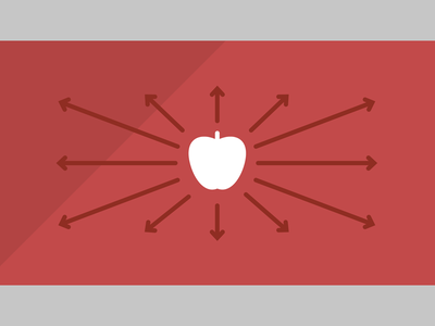 TBC3 Blog - Applesauce sharing the busy creator editorial icon concept illustration website article blog