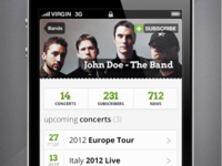 Music Band - iPhone app