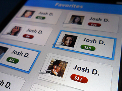 Tab iOS app