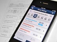 iOS timer for billing app