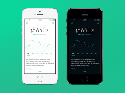 Robinhood Screenshots