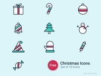 Free Christmas Icons Vectechs.com