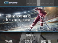 West End Sports Calgary website