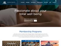 Massage Height website