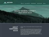 Northern Silica New website