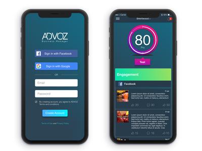 Ux Design - mobile app interface app mobile ui ux iphonex