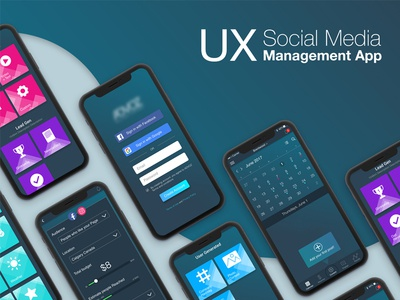 UX Mobile App complete project app socialmedia mobile ui ux