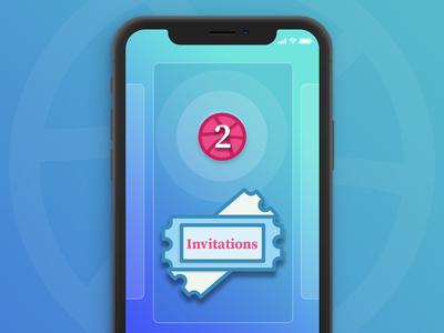 2 Draft Invitations invitations draft dribbble