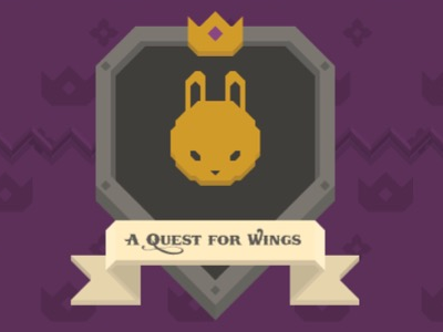 Furdemption - A quest for wings game quest king rabbit gamedev game-art