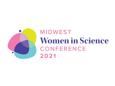 Midwest Women in Science Conference intersection biology chemistry wisc stem women in stem branding logo conference women in science