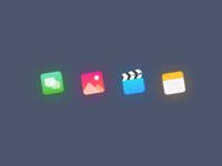 Iconset for about page clilk.com