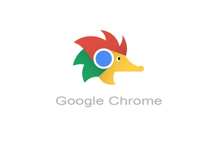 Google Chrome Logo Redesign sonic the hedgehog hedgehog search engine google chrome web logo design illustration