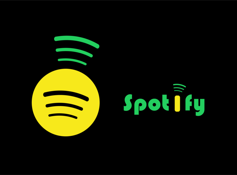 Spotify Logo Redesign fruit music music app design redesign pineapple spotify logo illustration
