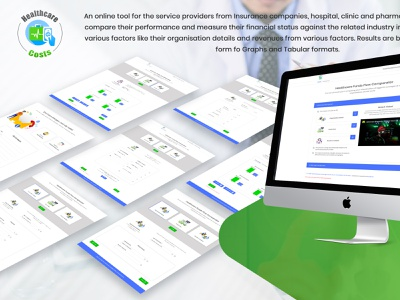 Design Health care web app ux ui branding logo design