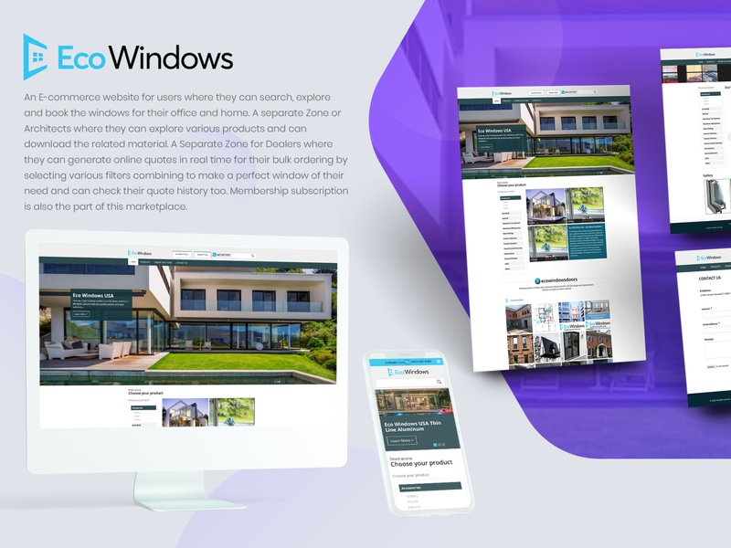 E-commerce web design buyer sales ecommerce marketplace app website web ux ui design