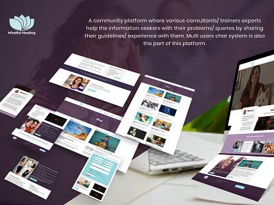 community marketplace marketplace community ux ui web design