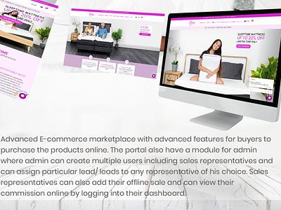 Online purchase platform ecommerce marketplace website web ui ux design