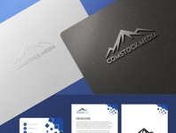 Comstock Media adobe photoshop branding media logos design
