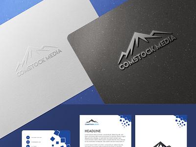 Comstock Media adobe photoshop branding media logos design