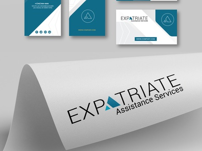 Expatrriate Logo design service logo artwork animation adobe photoshop branding ux ui design