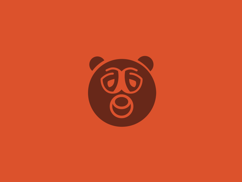 Dribbble uploads bear