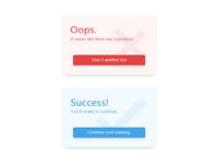 Flash Message (Error/Success) - #011