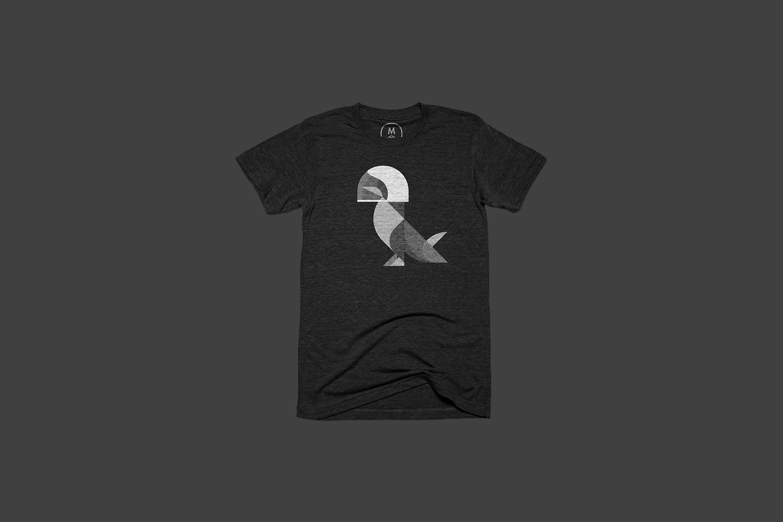 The pigeon black