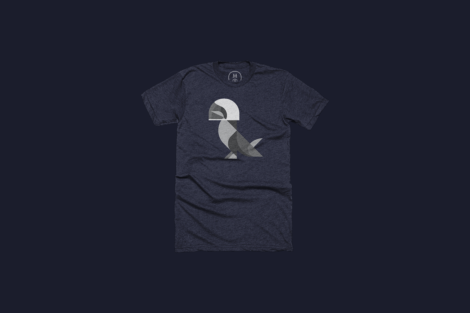 The pigeon blue