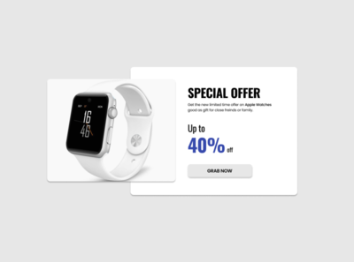 Special Offer UI concept #UI036 products uiconcept uiuxdesigner uidesigner designer portfolio uidesign adobexd adobe uiux branding illustration behance dribbble dailyui036 design daily100challenge dailyui ux ui figma