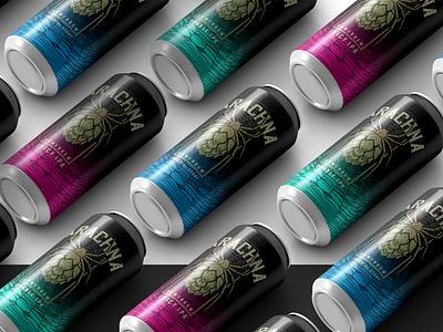 Arachna Homebrew   Labels & Identity packaging craftbeer spider label cerveza cerveja bier beer homebrew